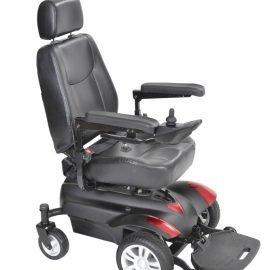 Titan power wheelchair – front wheel drive