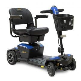 Pride jazzy zero turn four wheel scooter
