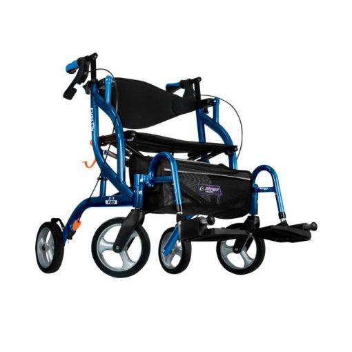 Airgo Fusion Rollator & Transport Chair