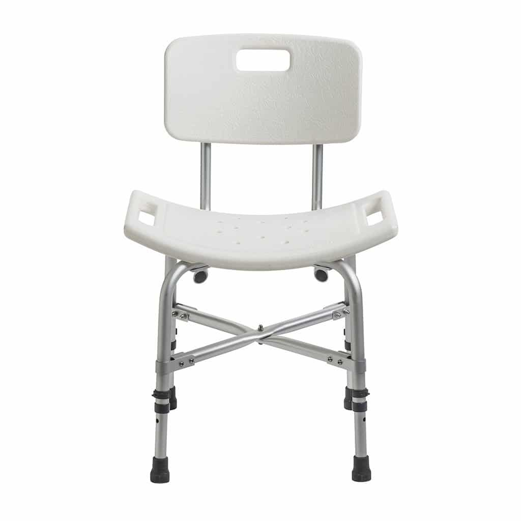 Drive medical deluxe bariatric shower chair with cross-frame brace