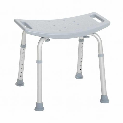 Drive medical bathroom safety shower tub bench chair without back