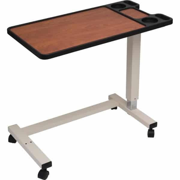 Drive medical non-tilt premium multi-feature overbed table u