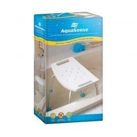 Aquasense adjustable bath chair without backrest