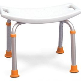 Profilio adjustable bath chair seat without back