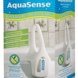 Aquasense profiled bath safety rail