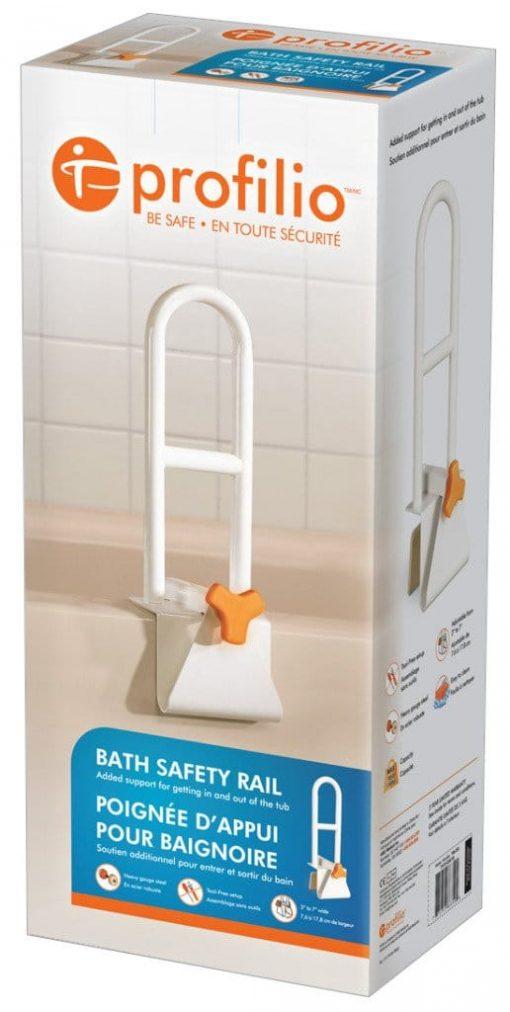 Profilio steel bath safety rail