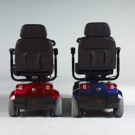 Fortress 1700 dt/ta mobility scooter