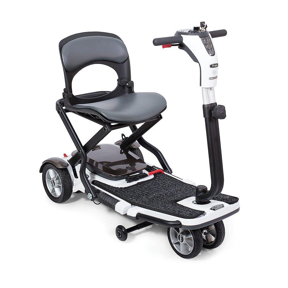 Go go folding scooter 4 wheel white