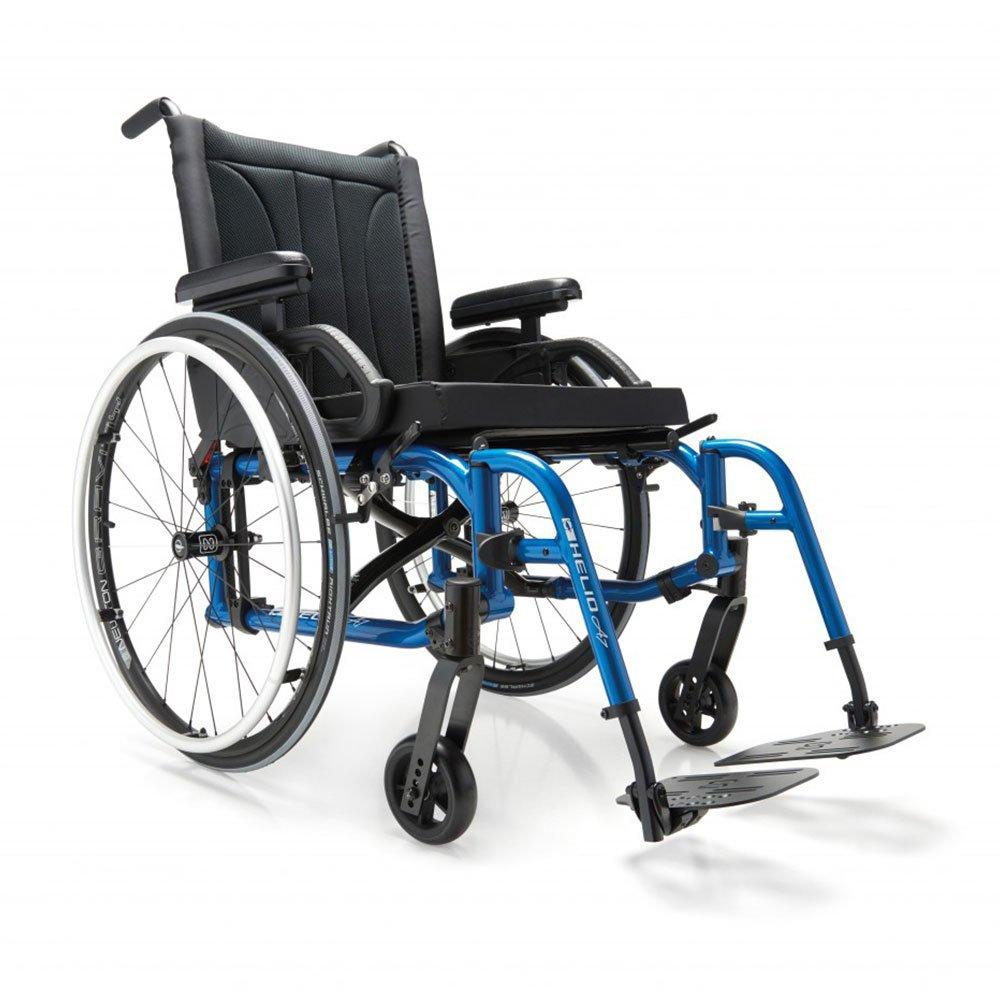 Manual wheelchair helio move