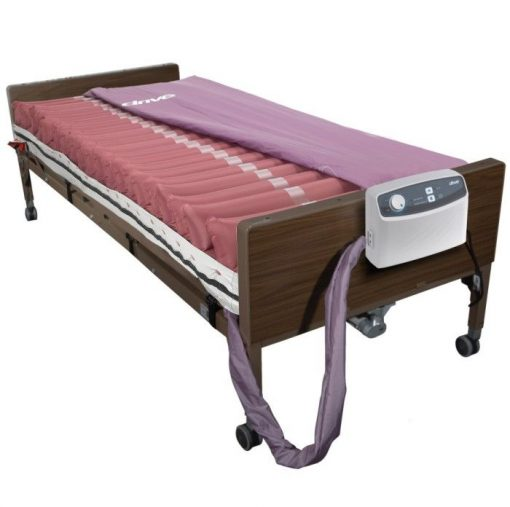 Med aire 8″ alternating pressure and low air loss mattress system