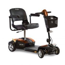 Pride go go lx 4-wheel scooter w/cts suspension