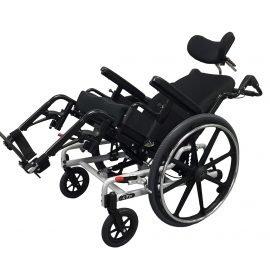 Power plus mobility super tilt plus manual wheelchair