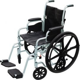 Drive poly-fly high strength transport chair