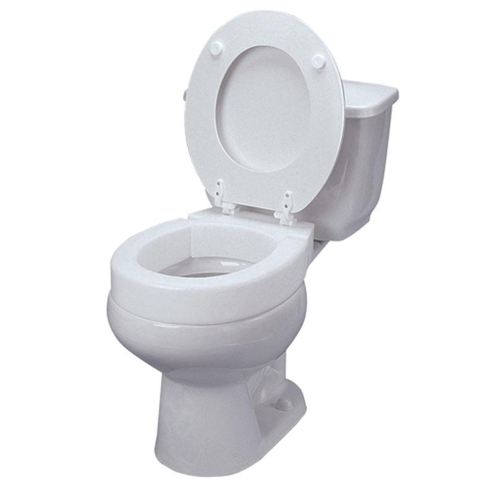 White dmi toilet seat risers 641 2571 0005 64 1000